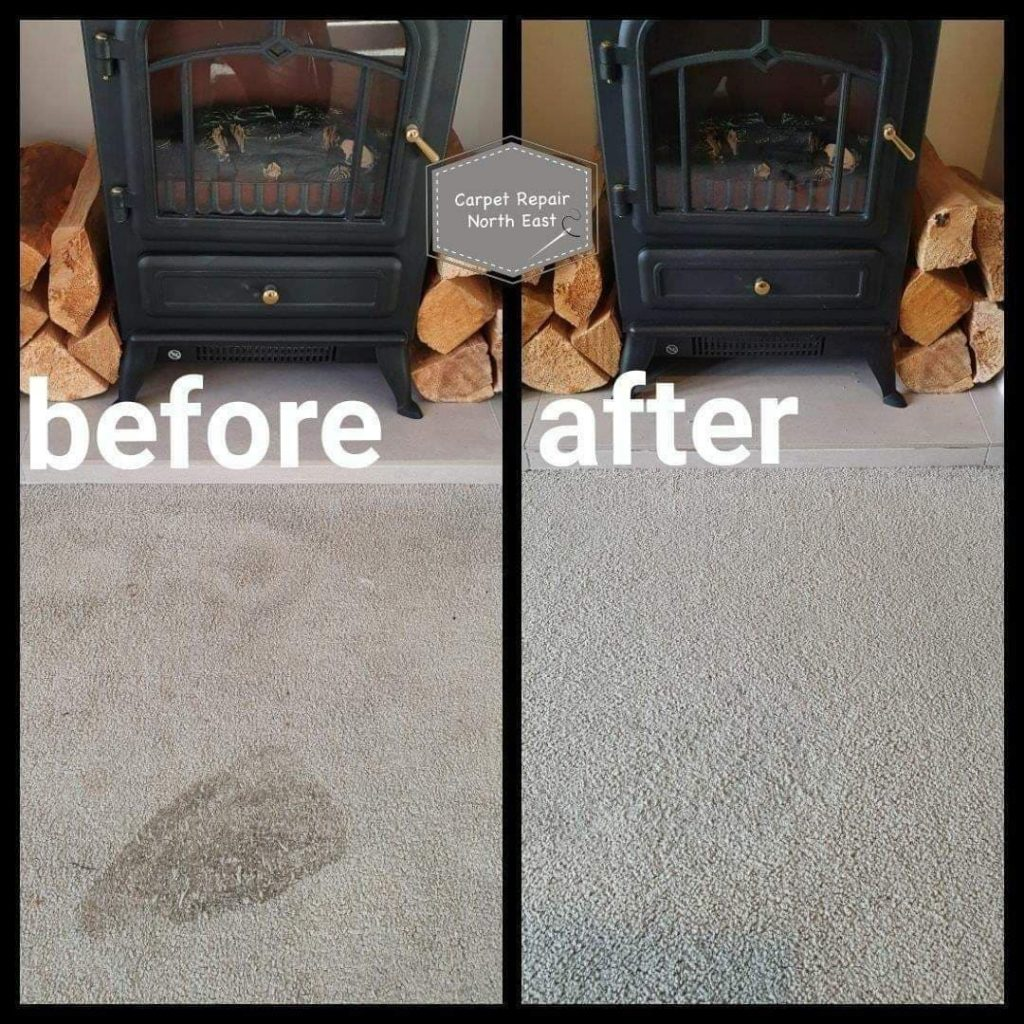 carpet repair burn